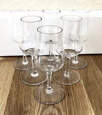 "Very Nice BACCARAT France Crystal Port Wine Glass or Goblet - 5-7/8"""