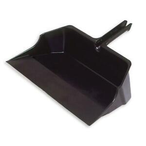 Rubbermaid Jumbo Dust Pan Floor Cleaner Tool Cleaning Large 22 In Plastic Black