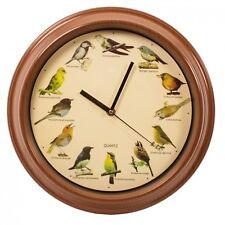 Wanduhr mit Vogelstimmen Vogel Vögel Kinderuhr mit Sound Tiere Kinderzimmer
