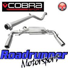 Cobra Sport Clio 197 Gato Sistema de escape atrás Acero no atractivo más fuerte RN03
