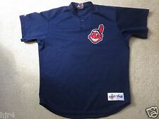 Cleveland Indians #5 Pregame Game Used MLB Majestic Jersey XL