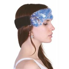 Zhu-Zhu Migraine Hot & Cold Pack Wrap Therapeutic Gel Beads Sinus Pain Headaches