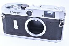 Canon P Rangefinder Film Camera Body leica screw mount #707061