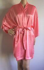 Victorias Secret Pink Satin Robe
