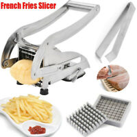 Potato Chipper Cutter Chopper Slicer French Fries Chip Vegetables Onion Fruit UK