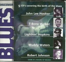 DISCOVER BLUES various (5X CD, 80 track box set) Chicago blues, delta blues