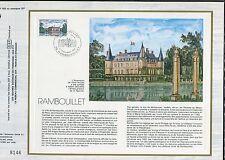 DOCUMENT CEF PREMIER JOUR  1980  TIMBRE   N° 2111 CHATEAU DE RAMBOUILLET