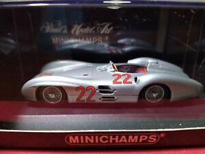 RARE MERCEDES BENZ W196 GP FRANCE 1954 MINICHAMPS 432543022 1/43