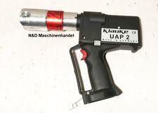 Klauke UAP 2 Akku Pressmaschine Presse Pressgerät Presszange Rechnung