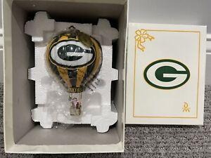 Green Bay Packers 2003 Danbury Mint Victory Balloon Christmas Ornament