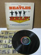 The Beatles Help Soundtrack Record Original Vintage Capital Records