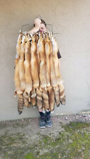 Beautiful Tanned Red Fox pelts w/ imperfection, furs (rdfxsemimp)