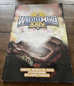 Wrestlemania 24 XXIV Program RARE