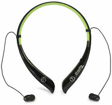 Plugable Wireless Bluetooth Retractable Neckband Headphones with built in Mic