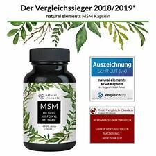 MSM Kapseln 365 vegane Kapseln 1600mg Methylsulfonylmethan hochdosiert