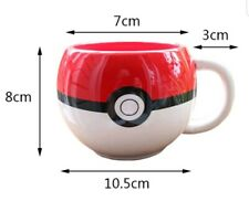 Pokemon Pokeball Tasse Tee Kaffee 3d Becher Gamer Poke