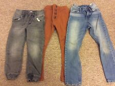 Bundle of boys jeans age 5-6 from M&S, H&M, F&F