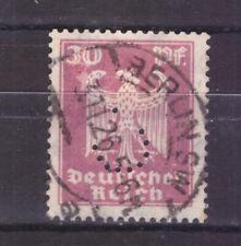 FRANCOBOLLI Germania REICH 1924 Aquila del Reich 30 p. PERFIN UNI352