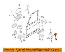 LAND ROVER OEM Range Rover Sport Exterior Rear Door Lock-Cover Cap CXJ500040LEP