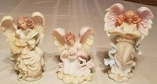 3 Lot Seraphim Classics Cymbeline Melody Tess Tender One Angel Figurines