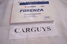2008 SUZUKI FORENZA  OWNERS MANUAL WITH CASE