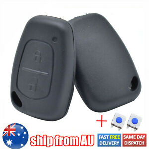 For Renault Traffic Master Kangoo 2 Button Pad Switch with Remote Key Fob Cover