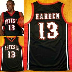 RETRO Men's James Harden Artesia High School Basketball Jersey jerseys XXS-6XL