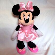 MINNIE MOUSE BOUTIQUE, TALKING MINNIE SOFT TOY DOLL  removable bow