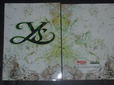 PSP YS SEVEN CHRONICLES OATH FELGHANA  LIMITED EDITION PROMO ARTBOOK ART BOOK