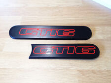 Peugeot 205 GTi-6 GTi6 2.0 Quarter Badge Stickers Decal Red Vinyl Badges