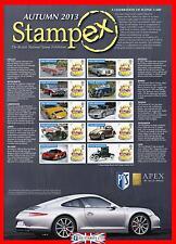 2013 Celebration of Iconic Cars Stampex ( Autumn ) Smiler Sheet