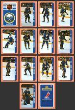 Renaissance 1982-83 Perreault Buffalo Sabres Team Set of 14 Souhaits Mini Cards