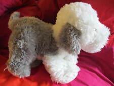 NEW NWT Poseable Poodle Dog Cuddle Flex Bend Shape Play Plush
