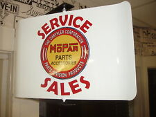 MOPAR PARTS 1960S ERA   SPINNING WALL MOUNT AD. SIGN