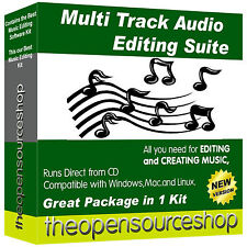 Pro Music Software Collection Suite – Audio Editor & Sound Recording Pack
