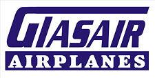 A204 Glasair Airplane banner hangar garage decor Aircraft signs