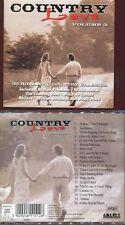"COUNTRY LOVE ""Vol. 3"" (CD) 2000 Jambalaya, Baby Doll..."