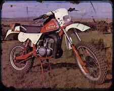CAGIVA Rx250 Enduro 81 A4 Metal Sign moto antigua añejada De