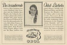 Y4624 ODOL Zahnpasta - Pubblicità d'epoca - 1929 Old advertising