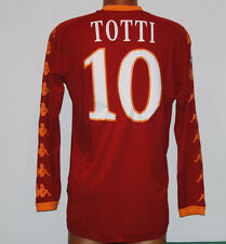 MAGLIA ROMA TOTTI issued worn? made in TUNISIA supercoppa 150 anni 2010 XXL