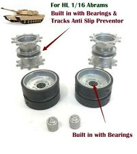 Heng Long Abrams 1/16 RC Tank Metal Driving Wheels and Metal Idlers