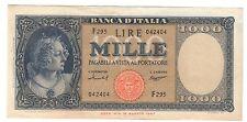 1000 LIRE italia medusa 15 09 1959 NON TRATTATA pieghe ma bb/spl LOTTO 701