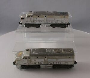 Lionel 2023 Union Pacific Alco AA Diesel Locomotive Set in Silver & Gray