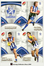 2007 Select AFL Supreme Trading Card Base Card Team Set North Melbourne(12)