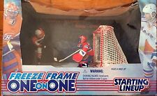 1998 Starting Lineup NHL Freeze Frame 1:1 Lindros Moog Flyers Canadiens