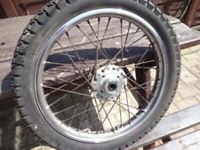 HONDA CB400F CB400/4 SUPERSPORT  - FRONT WHEEL & TYRE