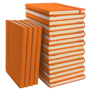 """20pk Simply Genius A5 Leatherette Journal Writing Notebook Lined 5.7"""" x 8.4"""""""