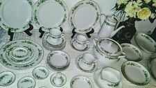 "40 Piece Dinnerware Set by ""Creative Manor"" with Floral Pattern"