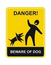 Beware of the Dog Beware of Dogs Warning Sticker Decal Graphic Vinyl Label V5