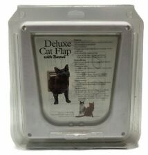 PetSafe Deluxe White Plastic Cat Flap with Tunnel - (C,114)